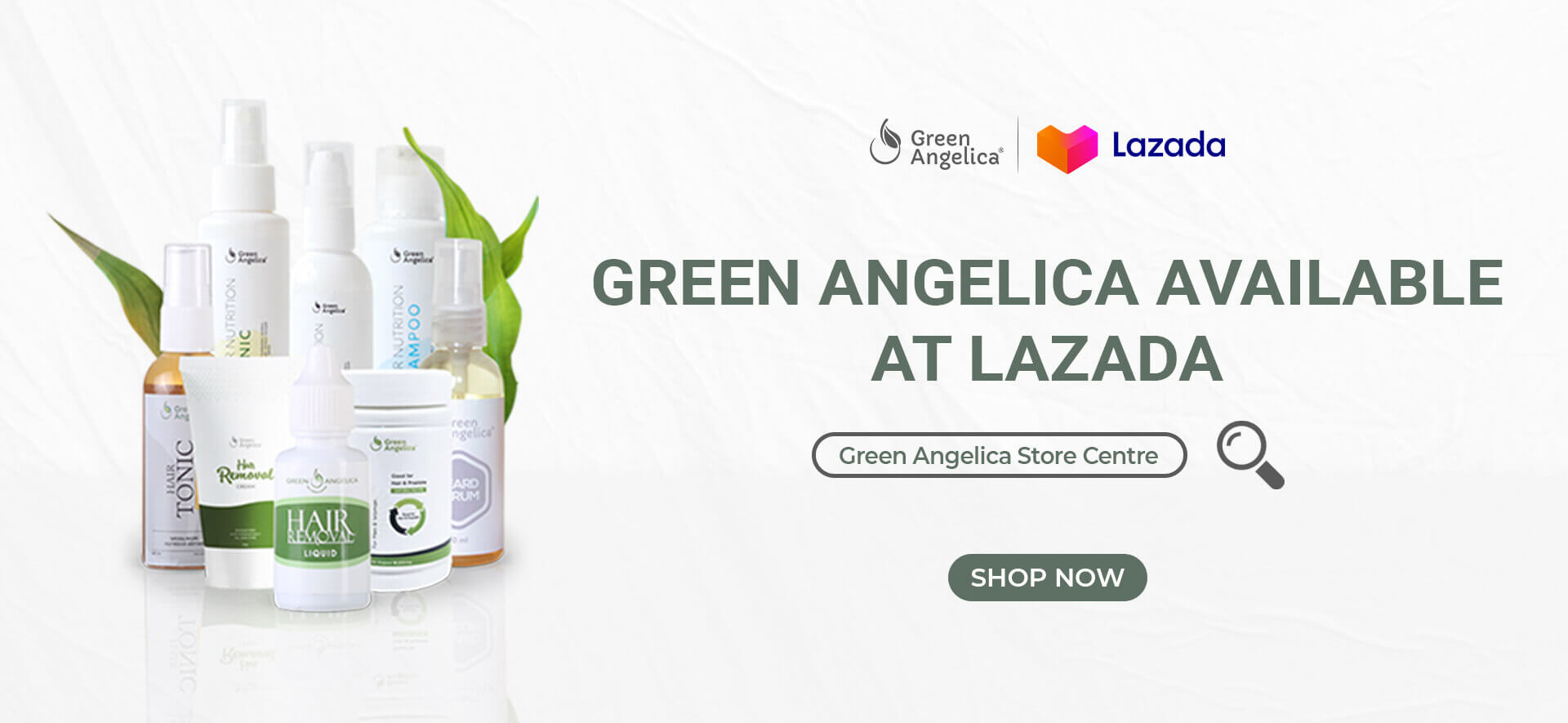 Lazada Mall Green Angelica