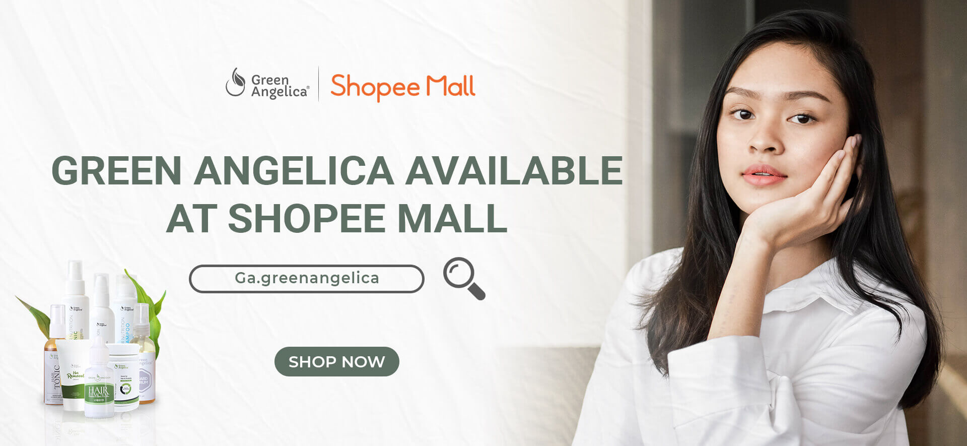 Shopee Mall Green Angelica