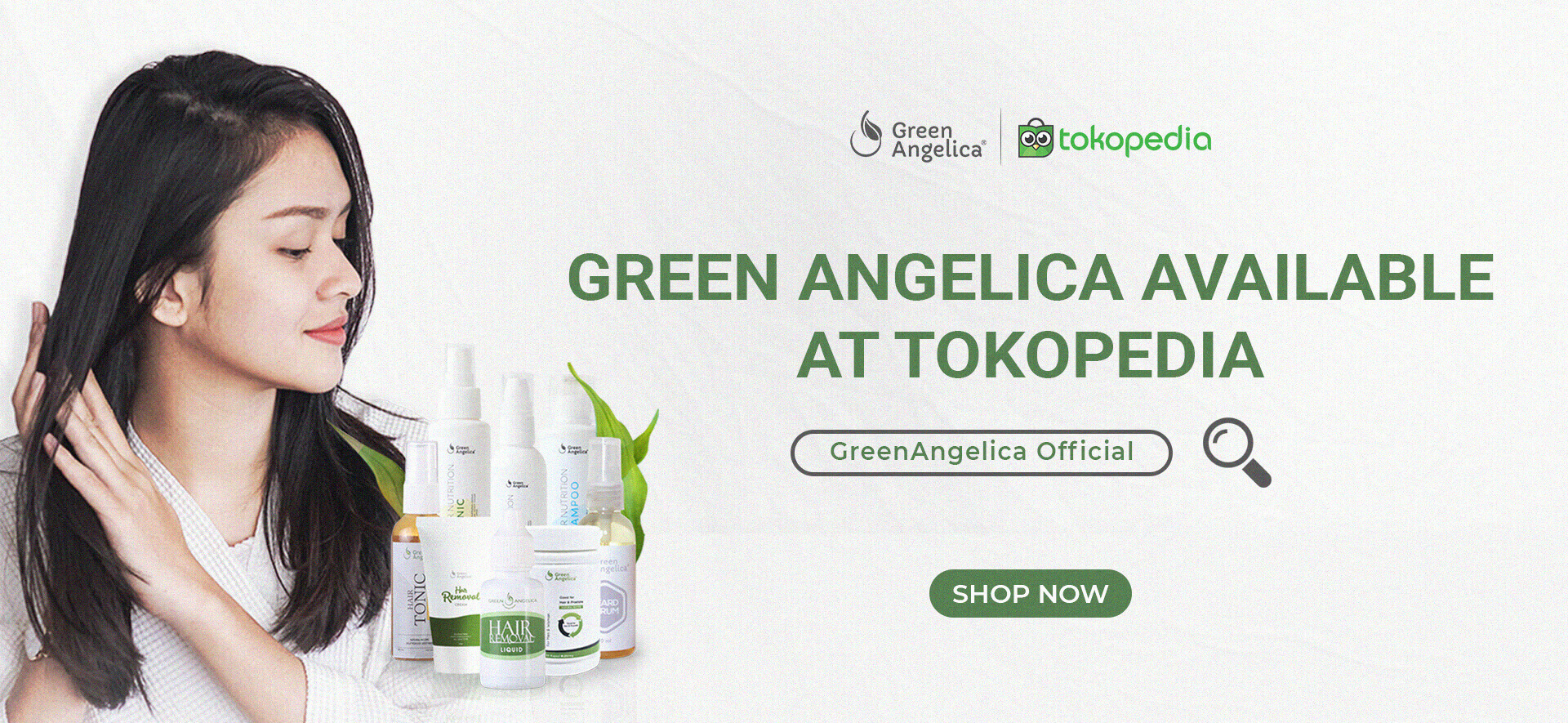 Tokopedia Official Store Green Angelica