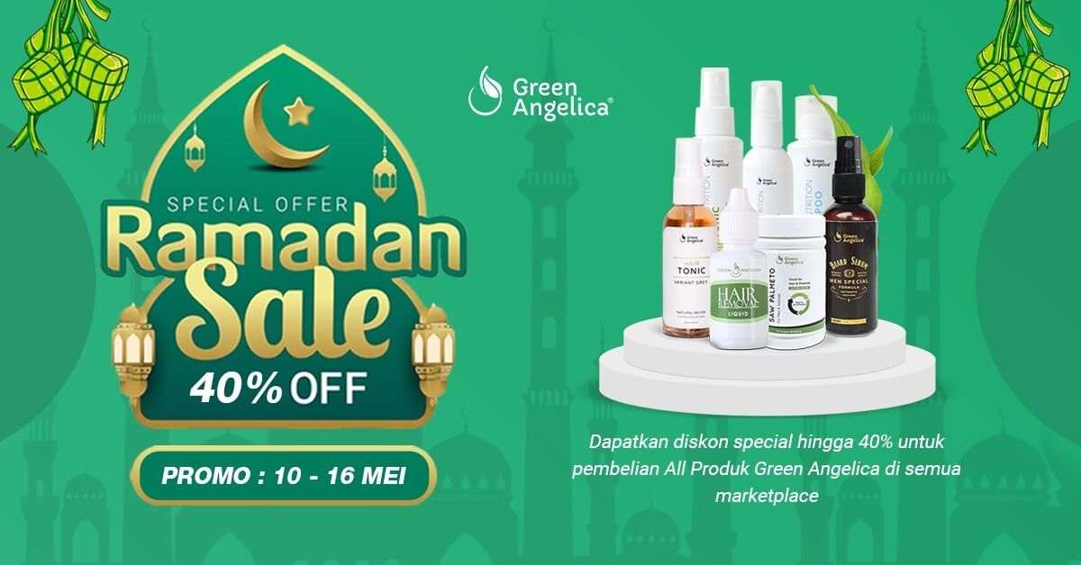 Green Angelica Lebaran Sale